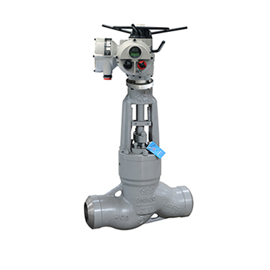 Electric straight-through type Globe Valve