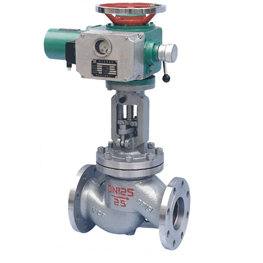 Electric Angle Type Globe Valve