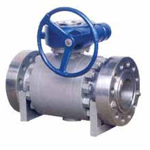 API Forging Steel Trunnion Mounted Ball Valve